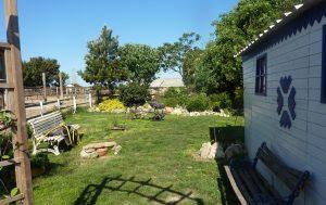 Un des jardins à la Tanière de Saintonge